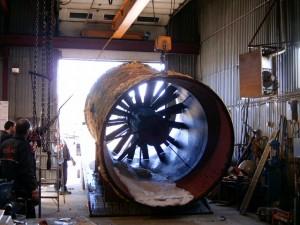Ventillateur industriel haute puissance
