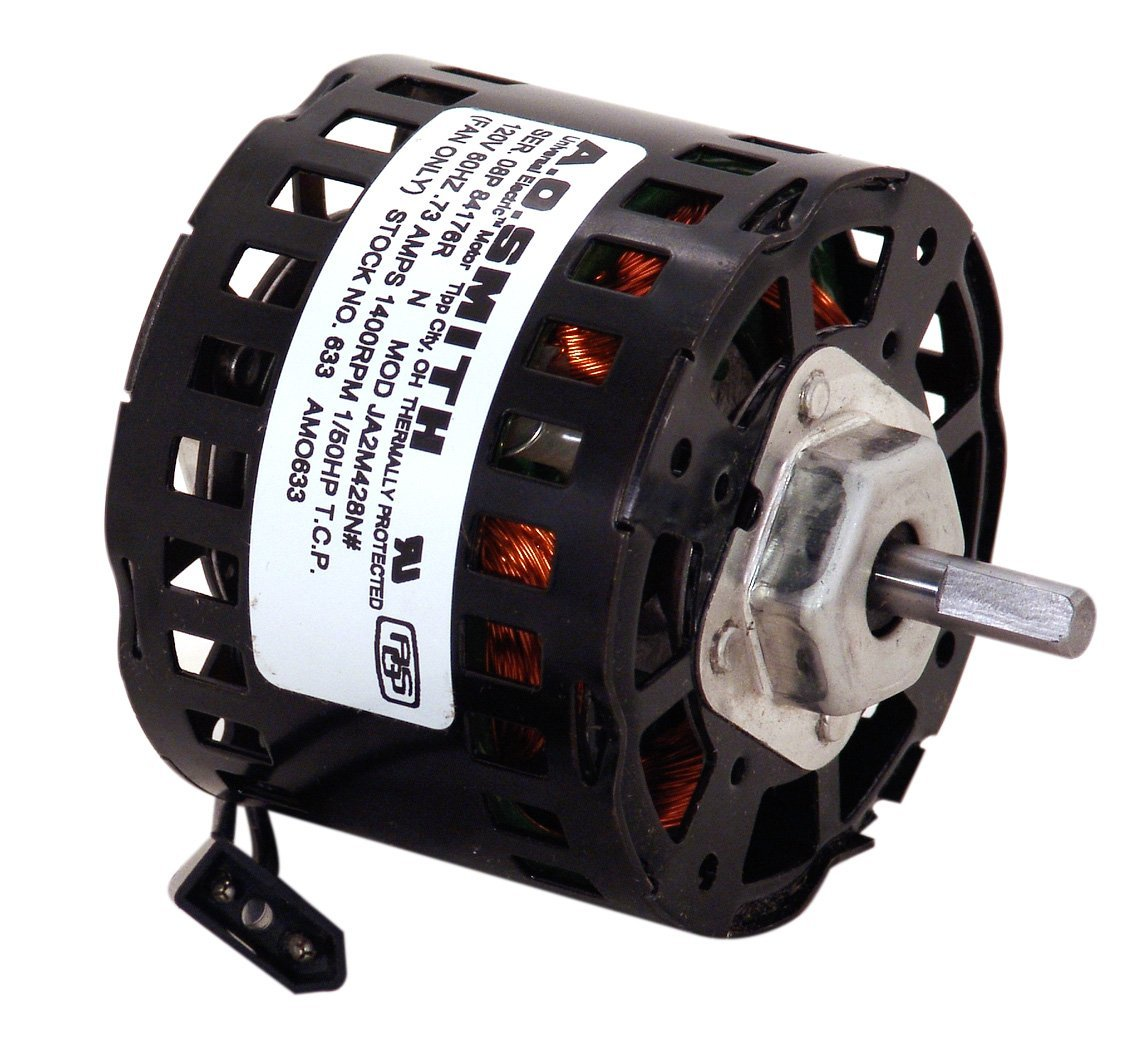 1400 RPM NEW FASCO ELECTRIC MOTOR REPLACES AO SMITH 633 D633  1//50 HP